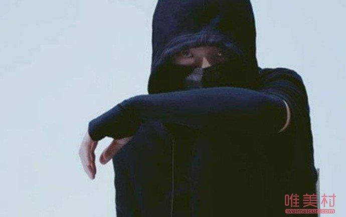 抖音黑脸v摘下面具照片 其特效制作历程及小我私家资料曝光(原创)