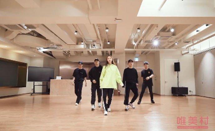 林允儿跳男团舞视频