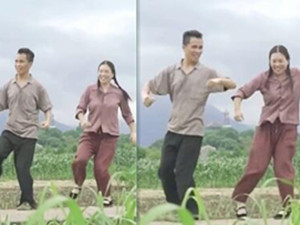 农民夫妻田间跳自创舞走红 详情曝光舞蹈动作源于日常很暖