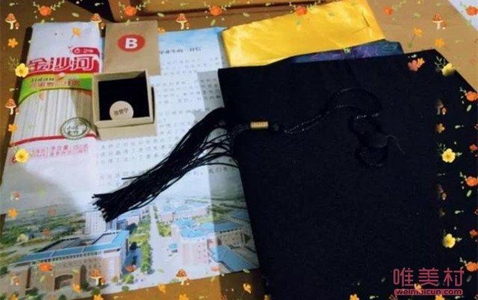 河北高校为毕业生寄面条 4件礼物背后都有它的美好寓意