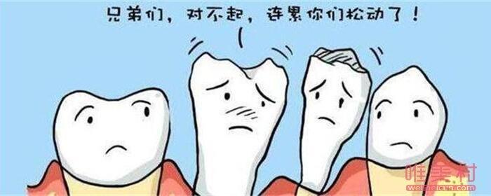 牙齿松动可以重新长牢吗
