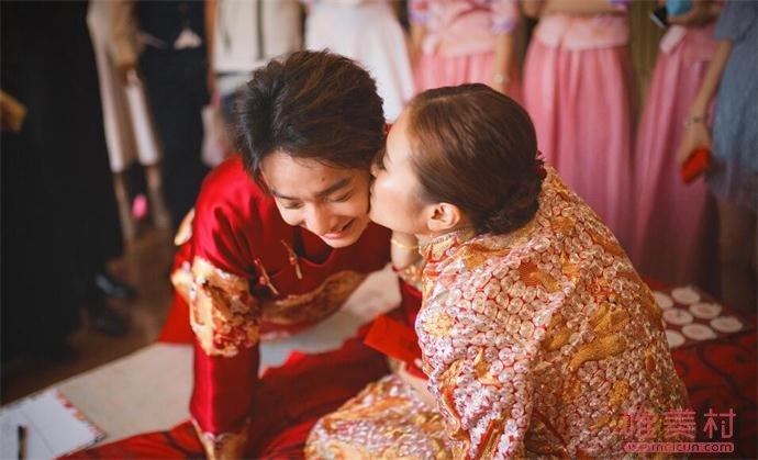 刘智扬栗立结婚照