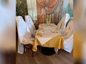 美国餐厅用鬼魂代替客人 网友:不仅不空了还感觉凉嗖的