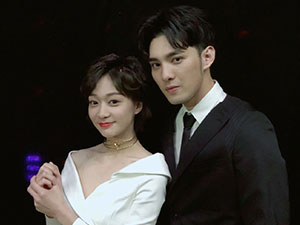 陈诗敏和黄伟晋谈过恋爱吗 两人戏中戏外都