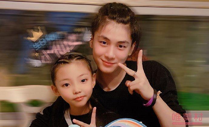 郭震和妹妹格格