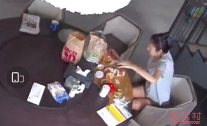 安以轩被麦当劳外卖烫伤
