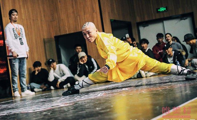 张浩然街舞比赛照片