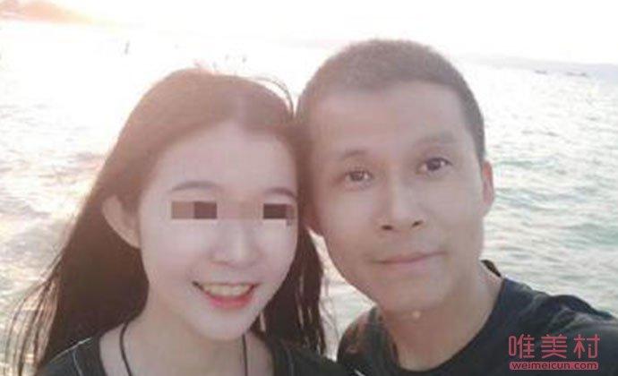岑怡诺与父亲岑刚灿
