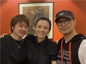 吴彤晒与章子怡汪峰聚会合照 网友期盼合作