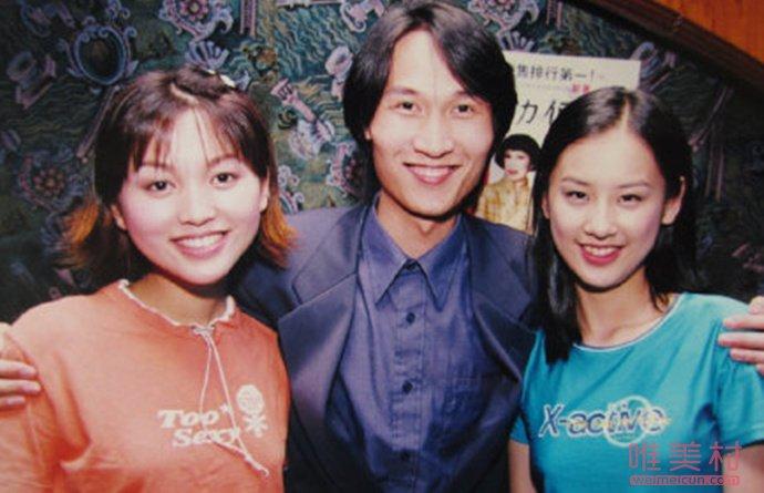 黄圣依金莎20年前合照 青涩合照引发网友热议(原创)
