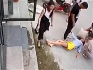 遭家暴跳楼女子接受央视采访 他没有一点愧疚