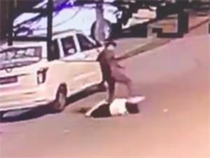 嵩县警方通报男子当街打死前女友 男方一直