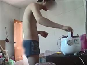 男子进女邻居家偷吃自称有原则 偷吃偷喝但绝不偷钱