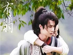 有翡青簪行出现在北京卫视招商会上 真的要