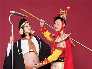 林峯升级当爸 和老婆张馨月孕妇照超搞怪