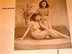 70年前广州流行人体艺