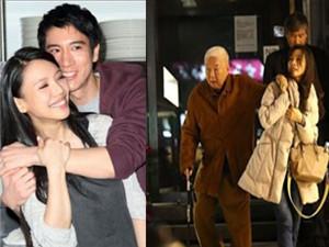 王力宏岳母与台湾富商约会 两个人相差27岁