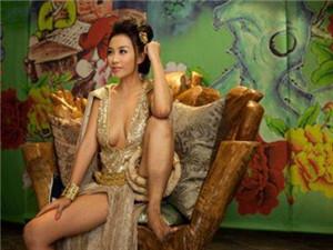 雷凯欣凭着3D肉蒲团一举成名 后嫁富豪老公