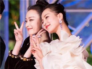 倪妮刘诗诗被吐槽塑料姐妹情 宣传时是好姐