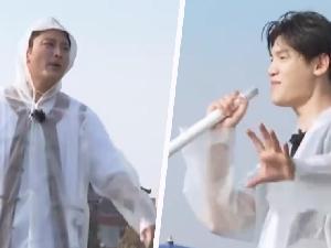 黄明昊唱rap向贾乃亮提中国新说唱 太尴尬了