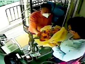郑州男乘客520表白公交车女司机 女司机:我