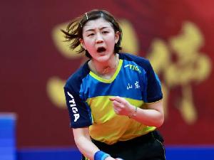 乒乓球选手陈梦是黄晓明表妹吗 揭秘陈梦黄晓明关系