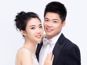 苏炳添和妻子青梅竹马 从校服到婚纱太浪漫