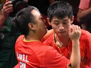 张继科称刘国梁一点也不偏爱自己 只有奥运