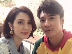 张丹峰蹭洪欣热度 上老婆节目请吃饭的姐姐